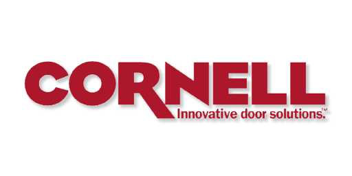 Cornell garage door logo
